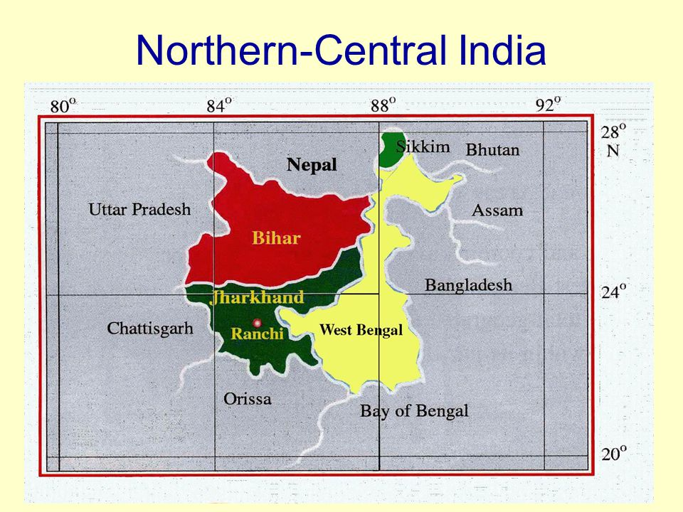Northern-Central India