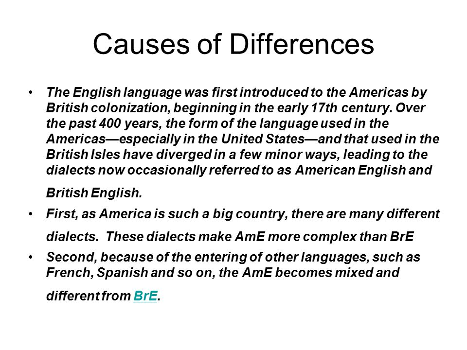 the language differences and dialects in the united states Some researchers go so far as to suggest it's actually impossible to count the number of dialects in the united states because under a loose definition of the term, thousands of cities, towns and.