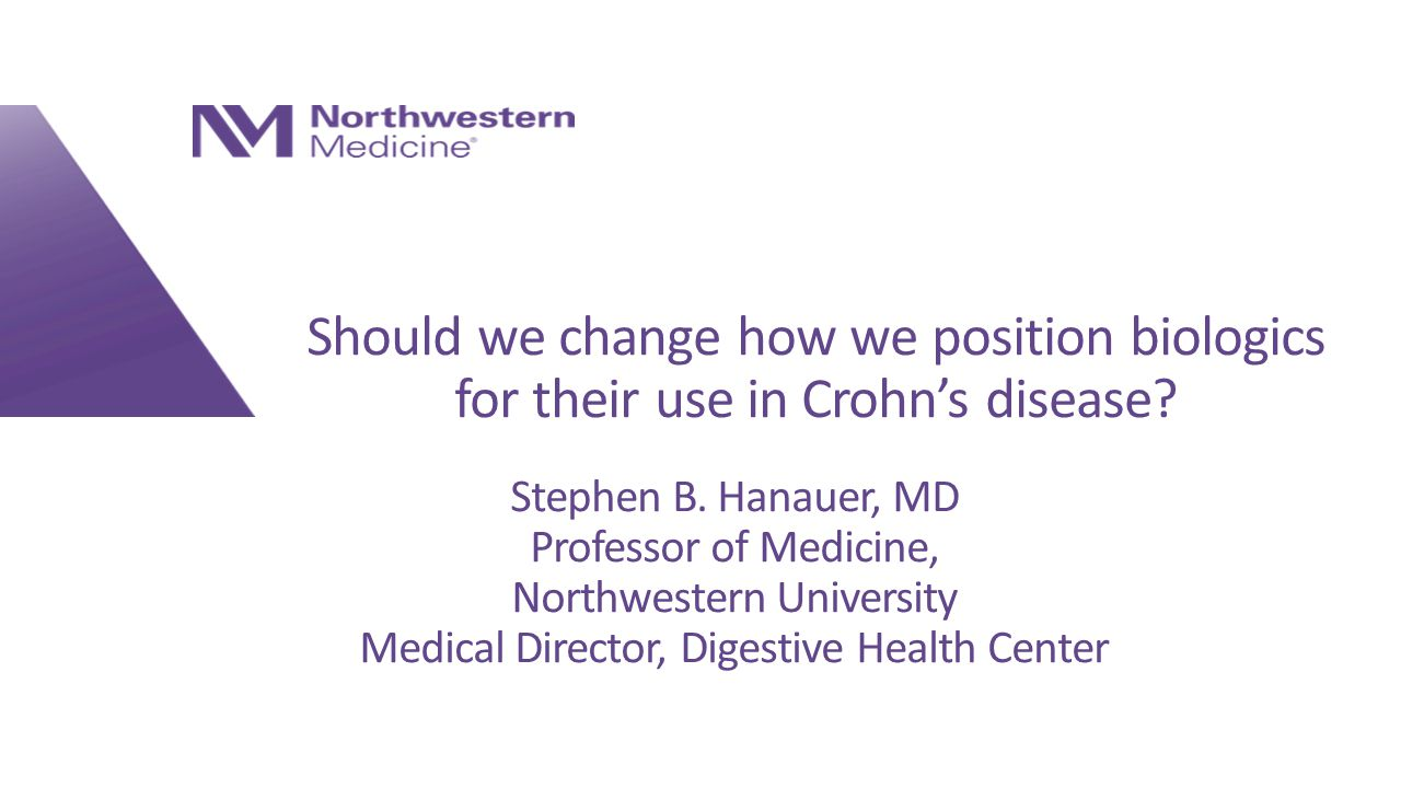 stephen b. hanauer, md professor of medicine, northwestern, Presentation templates