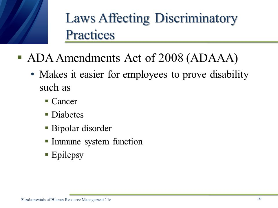discriminatory practices Legislation promotes anti-discriminatory practice by making it unlawful to discriminate against particular social groupings also policies, procedures, conv.