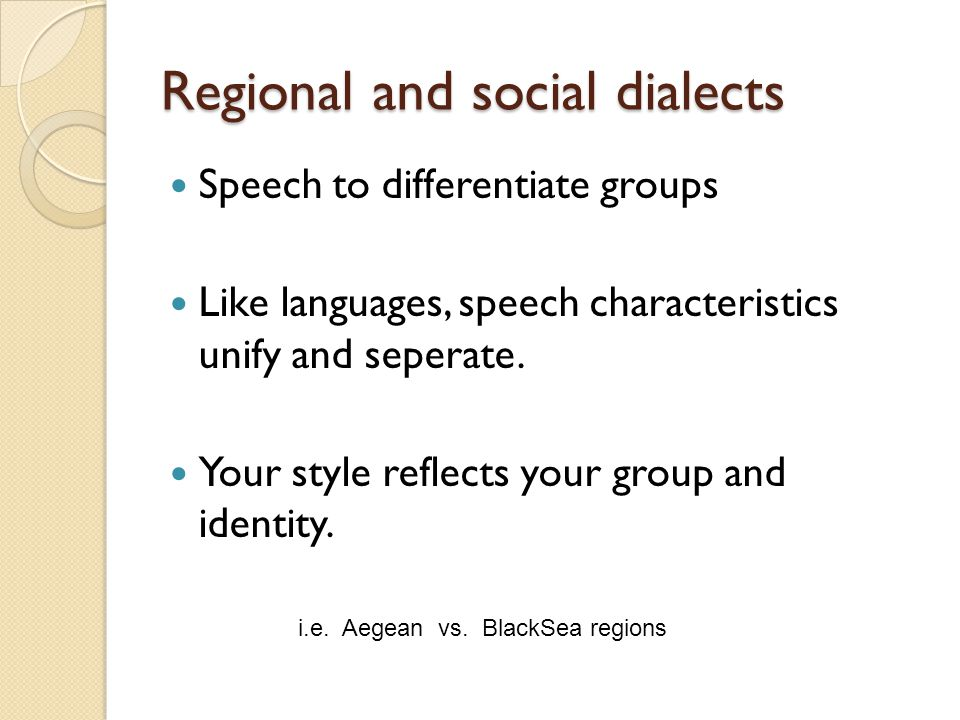 """regional and social variation Social networks create their own regional dialects by joel shurkin  paper  reference: """"a latent variable model for geographic lexical variation""""."""