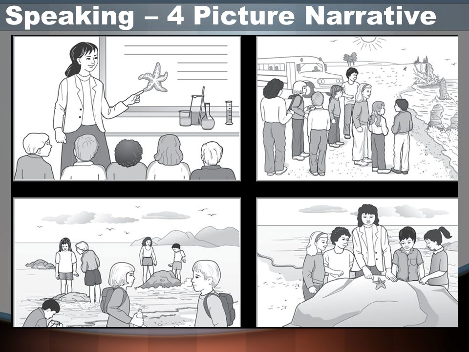 Speaking – 4 Picture Narrative