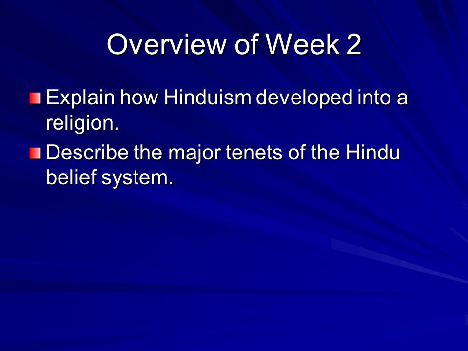 An analysis of the religion of hinduism