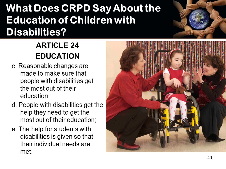 children education special needs An individualized education program your child needs an iep to get special education services at school you play a key role throughout the iep process.