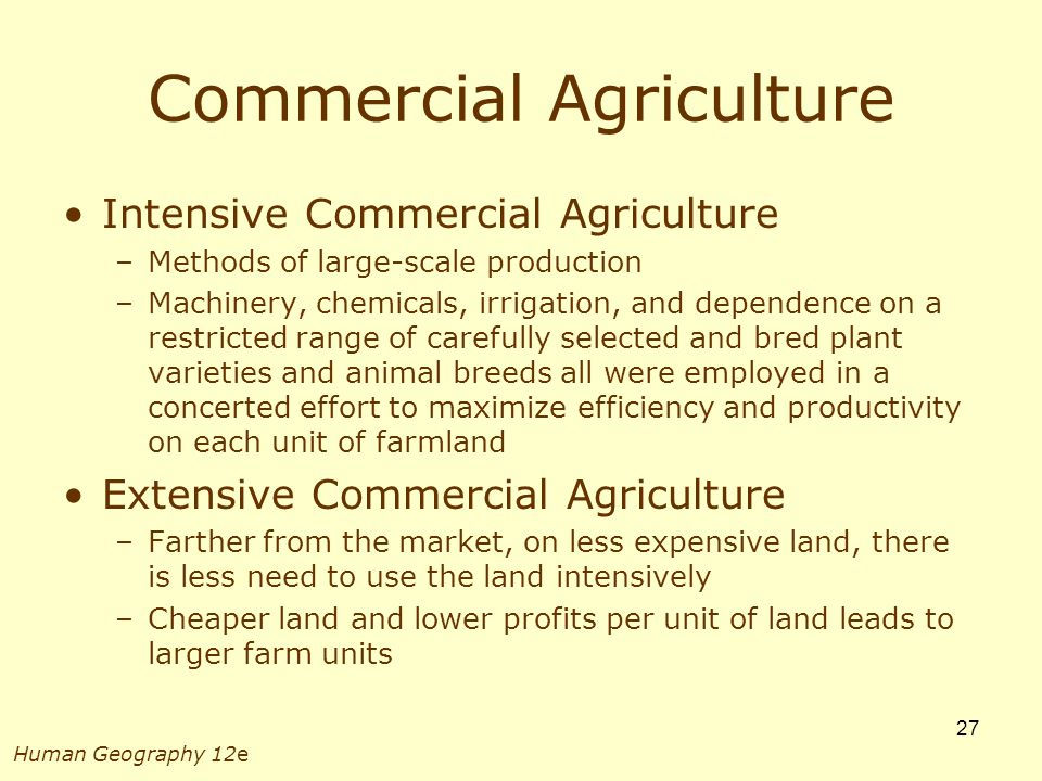 Chapter 8 Economic Geography: Primary Activities - ppt ...