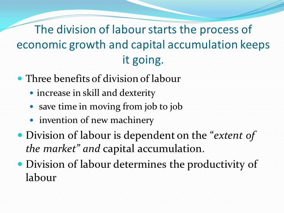 Capital Accumulation – definition