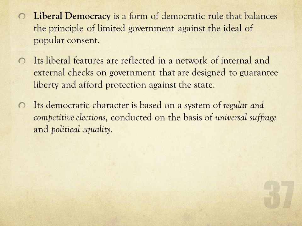 Is Democracy the Best Form of Political System?