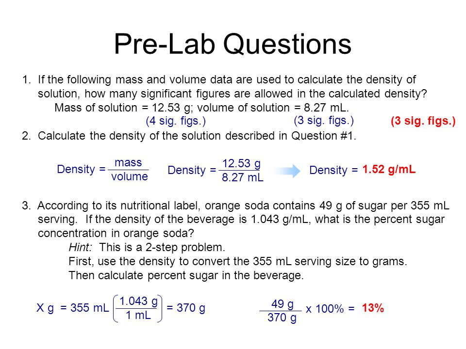 how to find the mass of the solution