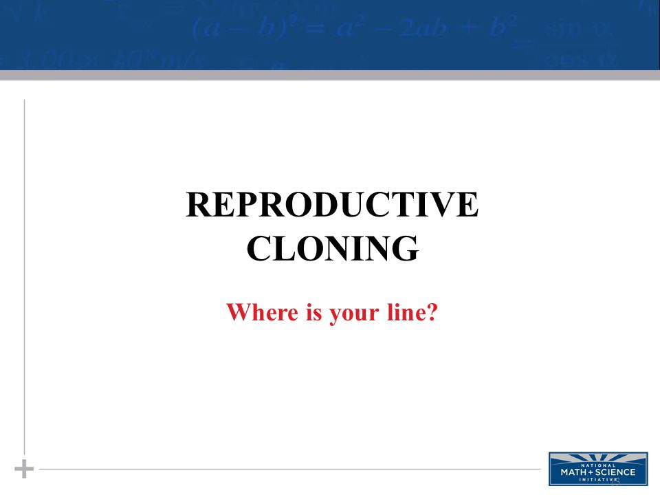 cloning a brief discussion News and discussion on the science of genetics and assisted reproduction  a brief history of cloning guardian unlimited picture gallery of cloned animals.