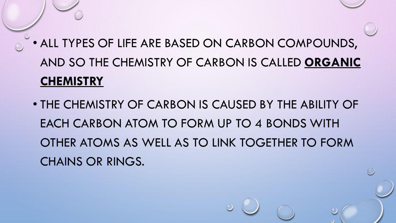 Types of carbon dating