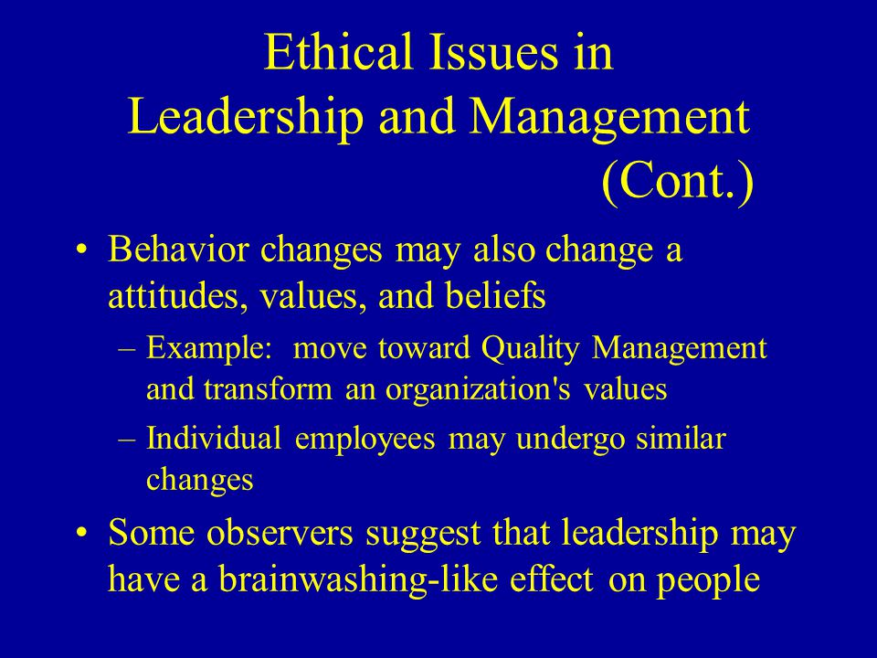 ethical issues in managing employee behavior Major ethical issues a business faces involve employee interactions, working  a  promotion are all examples of ethical issues regarding employee behavior   and owner of a copywriting/social-media management company.