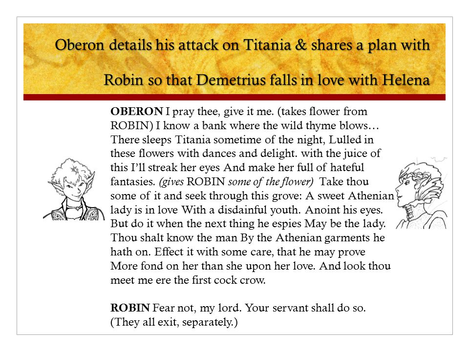 42 Oberon Details His Attack On Titania
