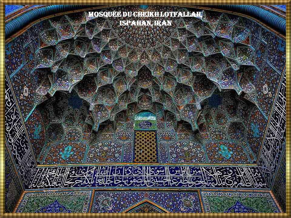 Mosquée du Cheikh Lotfallah, Ispahan, Iran