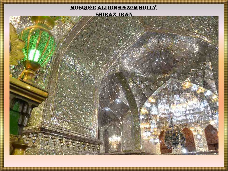 Mosquée Ali Ibn Hazem Holly, Shiraz, Iran