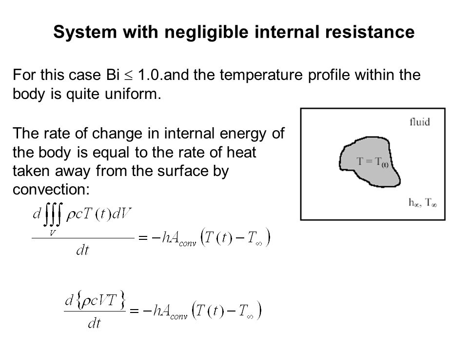 System with negligible internal resistance
