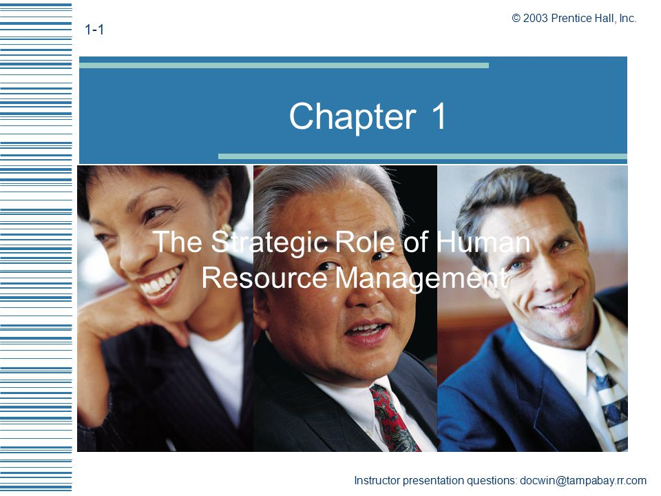 the strategic role of human resources management Strategic human resource management then is the process of using hr techniques, like training, recruitment, compensation, and employee relations to create a stronger organization, one employee at.