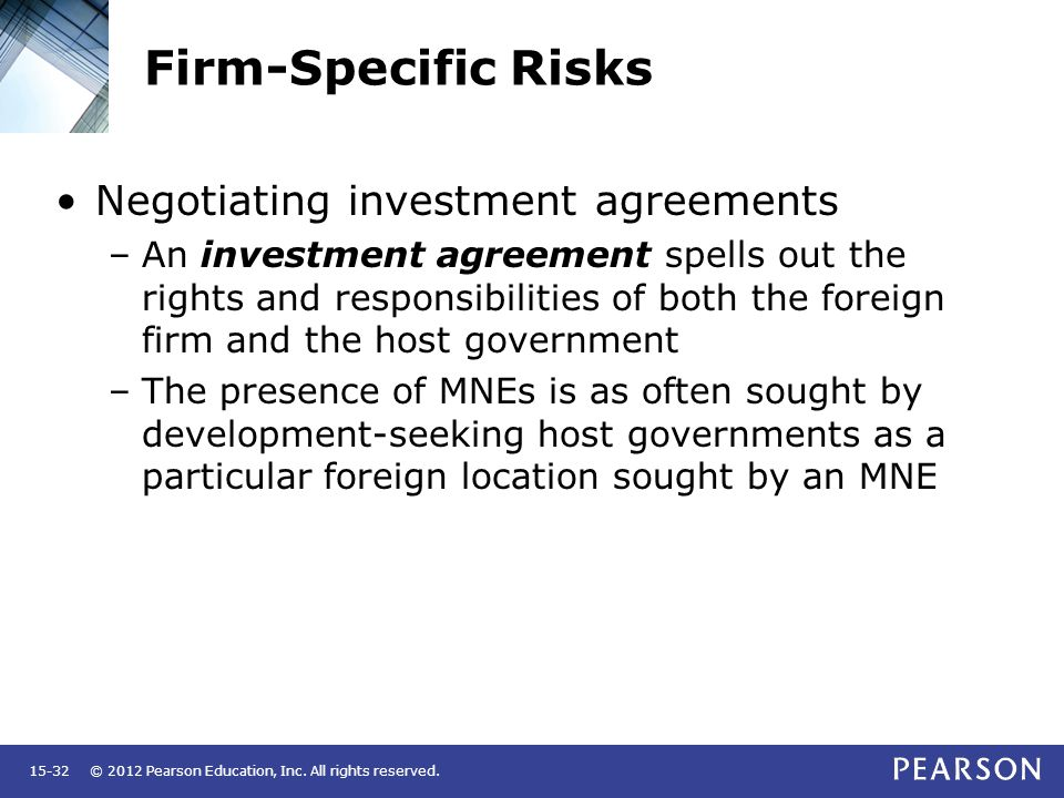 Foreign Direct Investment And Political Risk - Ppt Video Online
