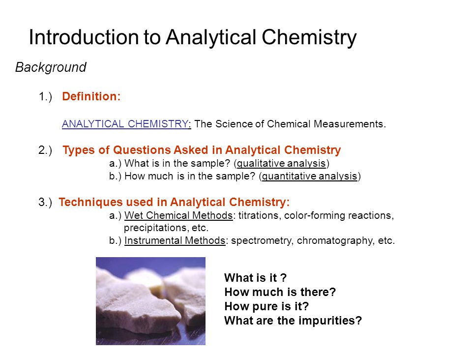 Elementary Quantitative Analysis - Ppt Video Online Download