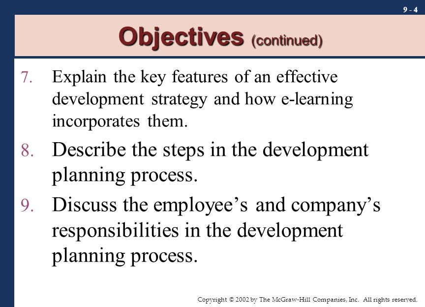 chapter 4 employers objectives processes and strategy pdf