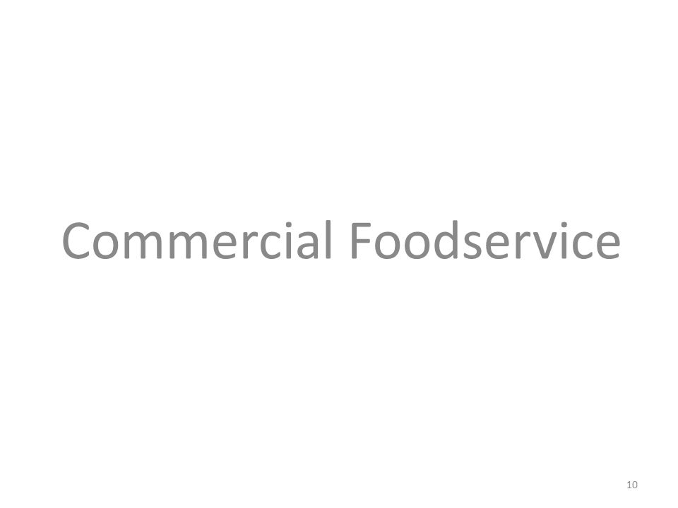 Commercial Foodservice