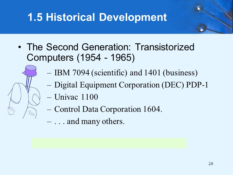 computer generations and the historical development The history of computing in the history of technology michael s mahoney program in history of science princeton university, princeton, nj (annals of the history of computing 10(1988), 113-125)after surveying the current state of the literature in the history of computing, this.