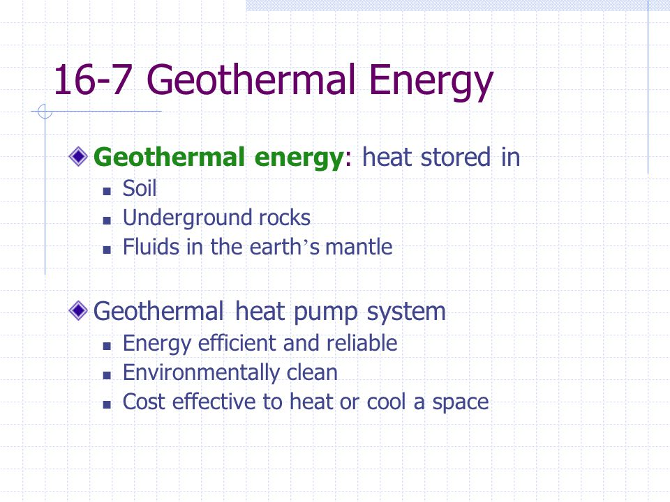 Chap 16 energy efficiency and renewable energy ppt video for What is the most economical heating system