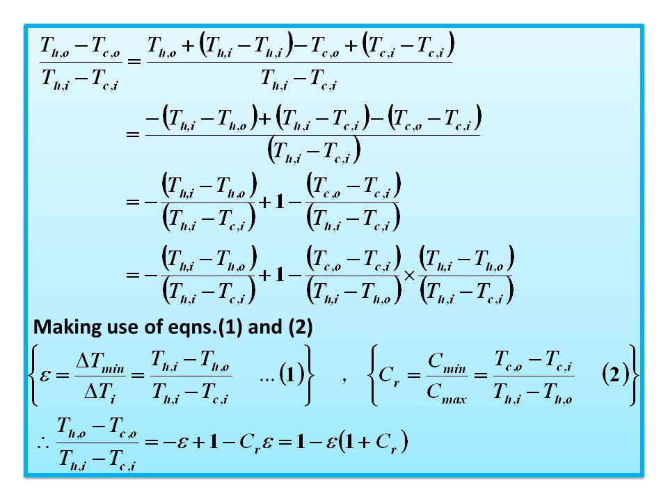 Making use of eqns.(1) and (2)