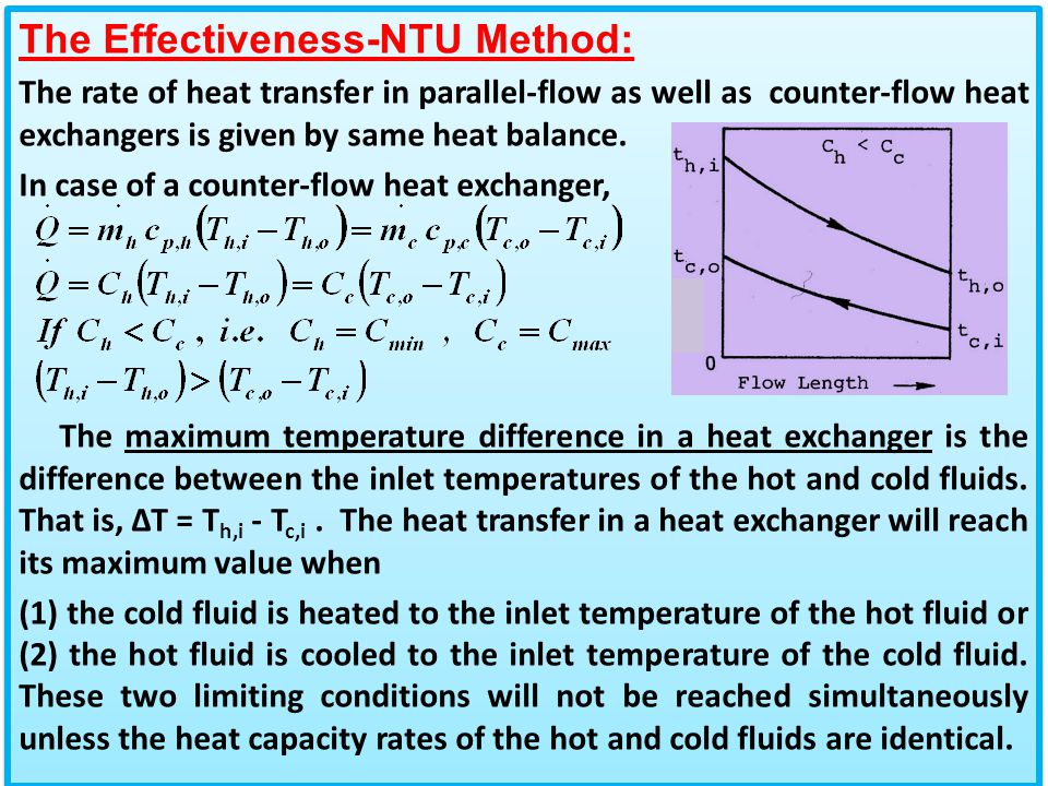 parallel flow and counterflow heat exchanger pdf