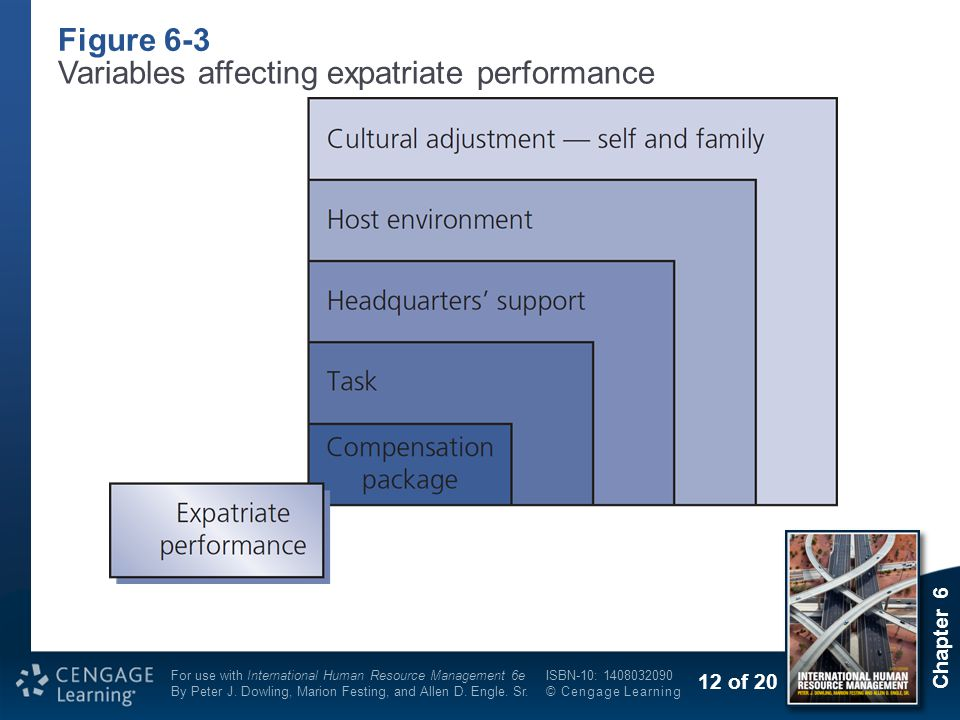 factors associated with appraisal of expatriate Ihrm performance management 1  international performance management • performance appraisal – it is the process of assessing an individuals performance in a systematic way.
