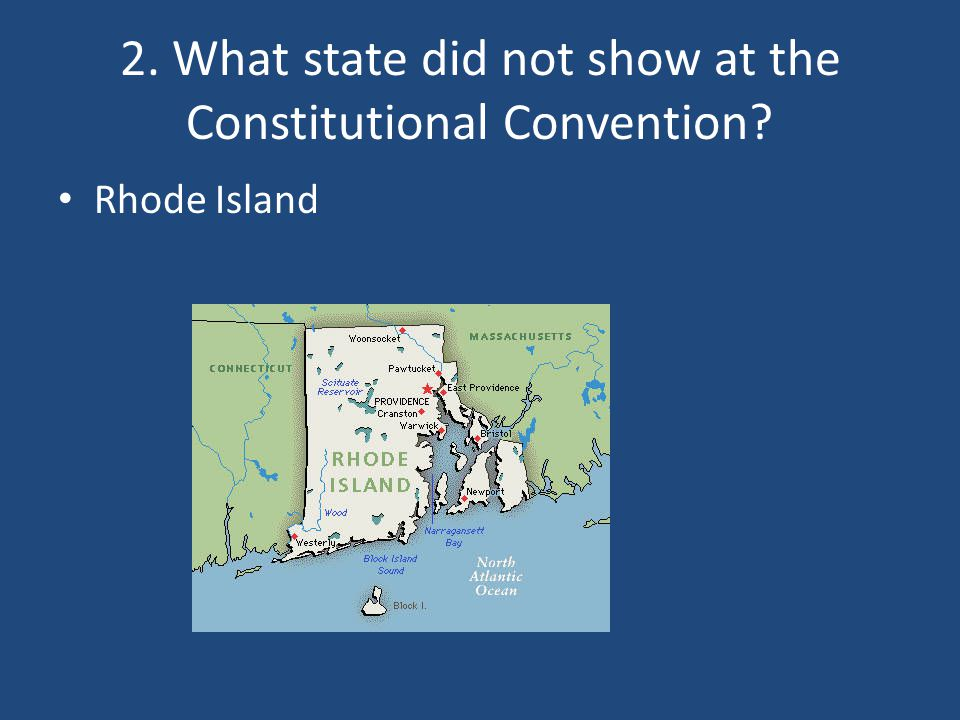 Rhode Island Delegate To The Constitutional Convention