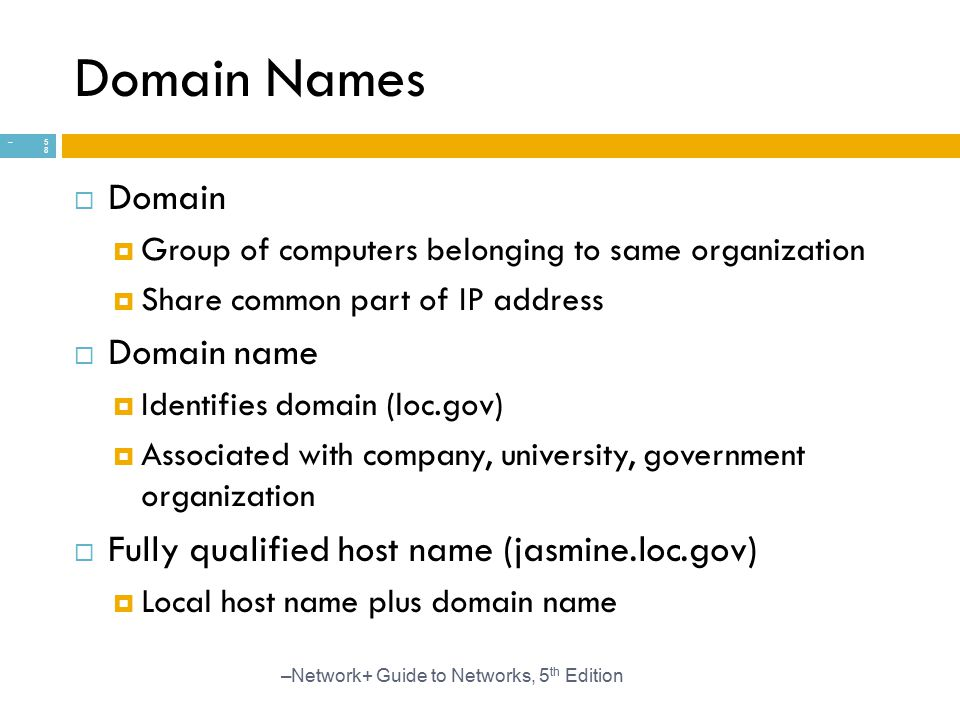 Domain Names Domain Domain name