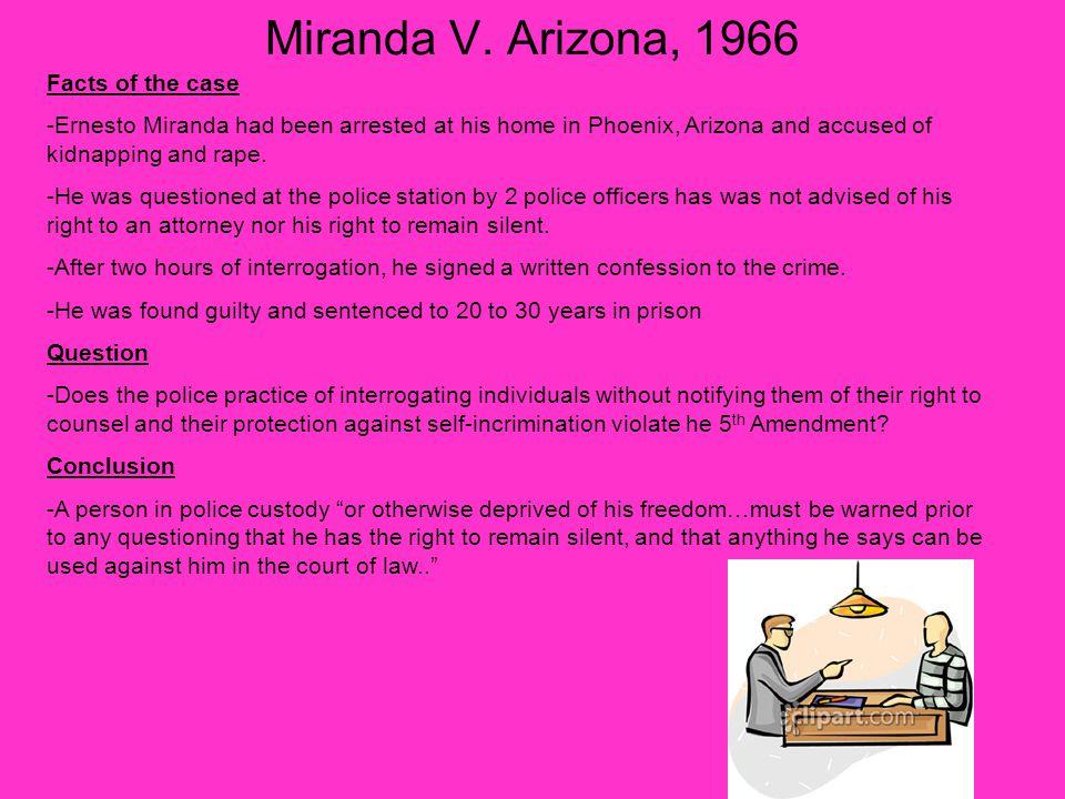 case brief on arizona versus hicks View arizona v hicks from crj 101 at moraine valley community college melisa hernandez professor becker case brief arizona v hicks, 480 us 321(1987) facts: on april 18th 1984, in arizona, a.