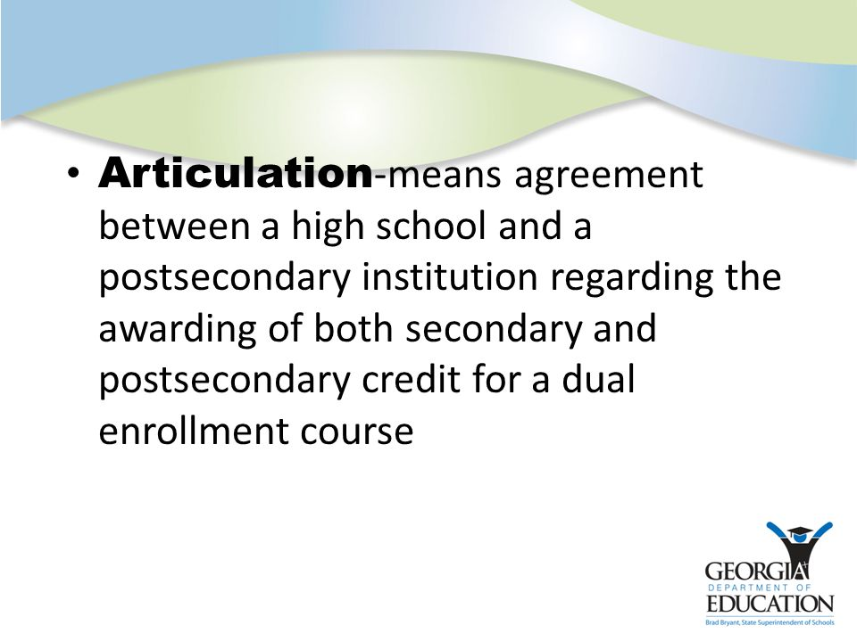 dual enrollment coursework What is high school dual enrollment high school dual enrollment is a  coursework acceleration program that allows qualified high school students to  begin.