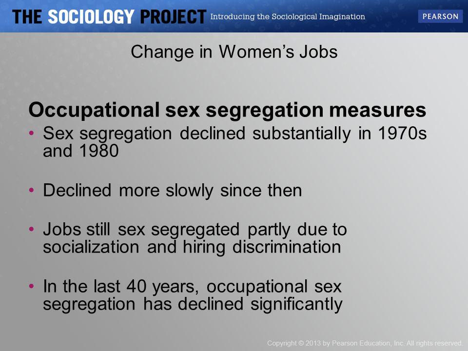 Occupational Sex Segregation 47