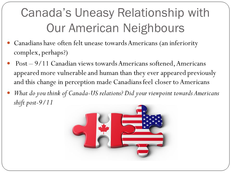 canada and us relationship timeline