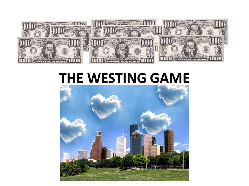 The Westing Game Ppt Video Online Download