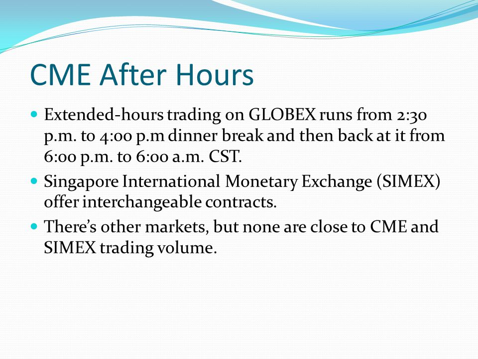 Us options market trading hours