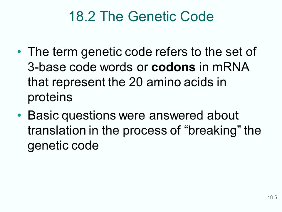 cracking the genetic code