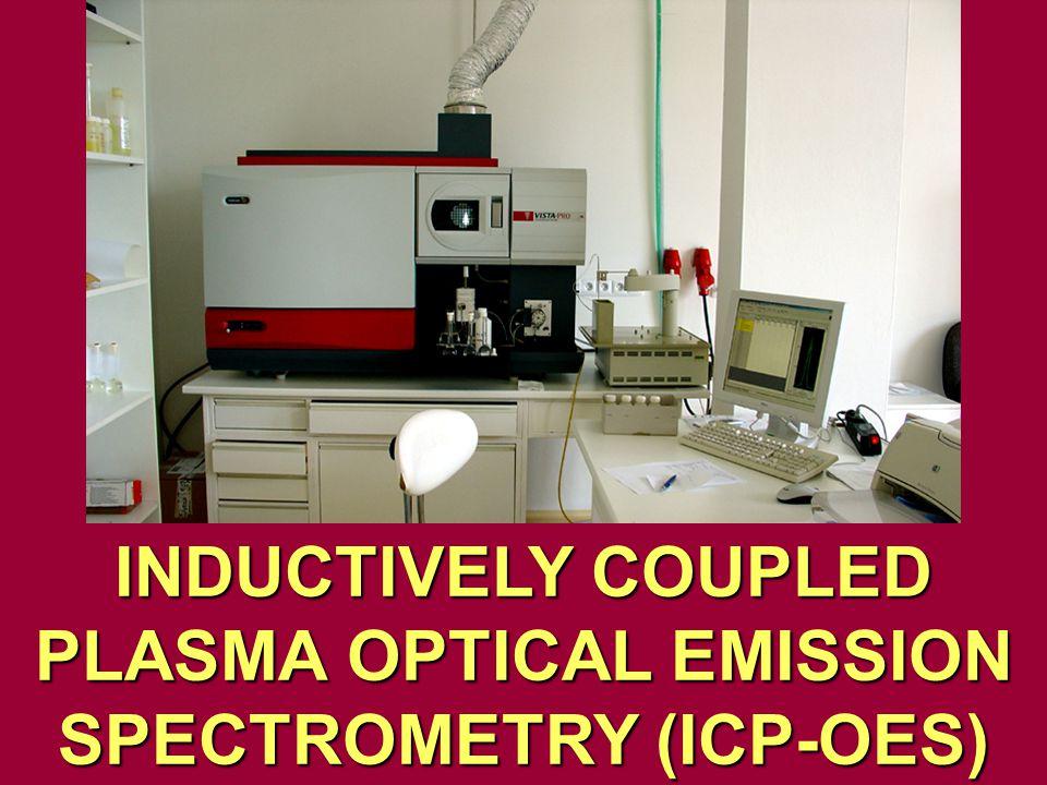 INDUCTIVELY COUPLED PLASMA OPTICAL EMISSION SPECTROMETRY (ICP-OES)