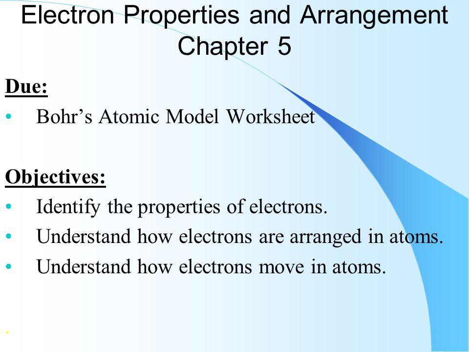 electron properties and arrangement chapter 5 ppt video online download. Black Bedroom Furniture Sets. Home Design Ideas