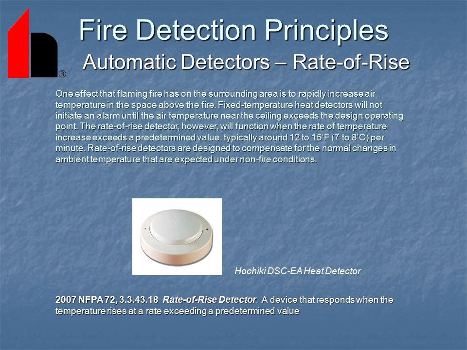 Fire Detection Principles