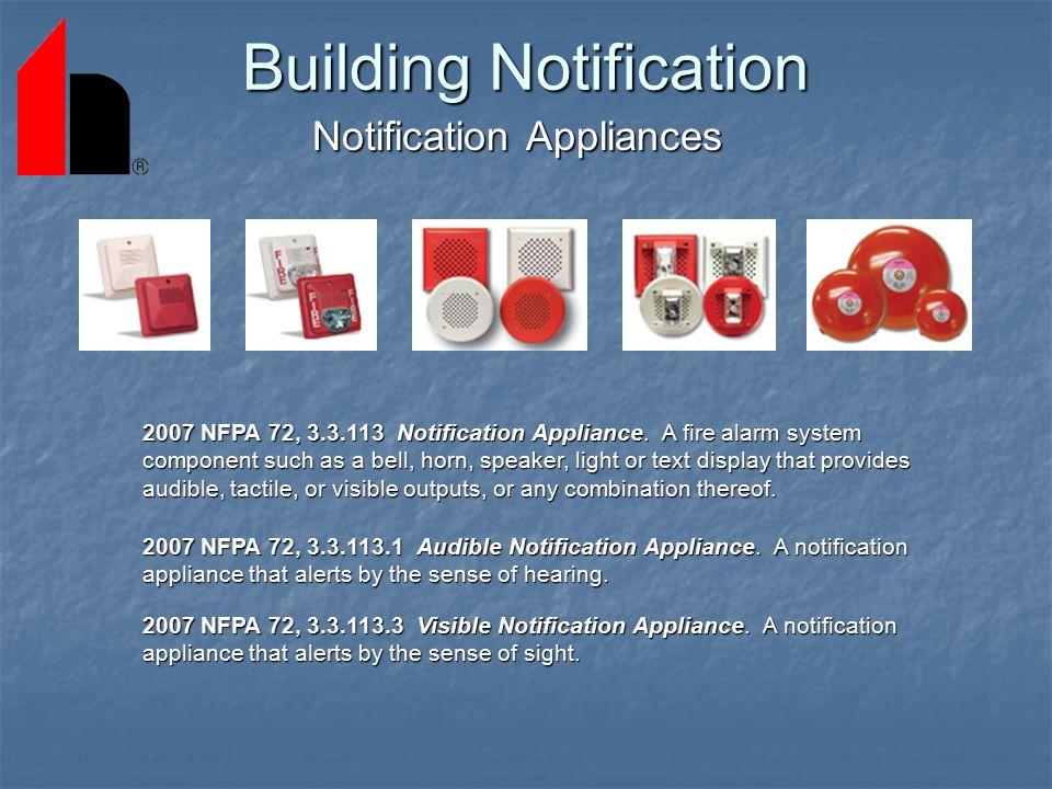 Building Notification