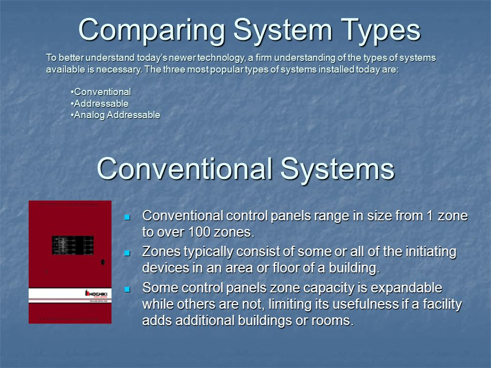 Comparing System Types