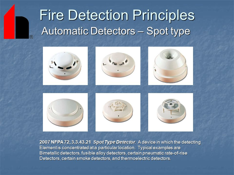 Fire Detection And Alarm System Basics Ppt Download