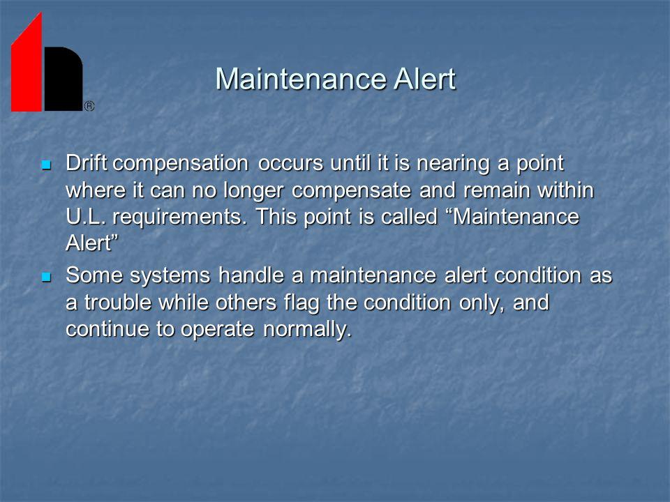 Maintenance Alert