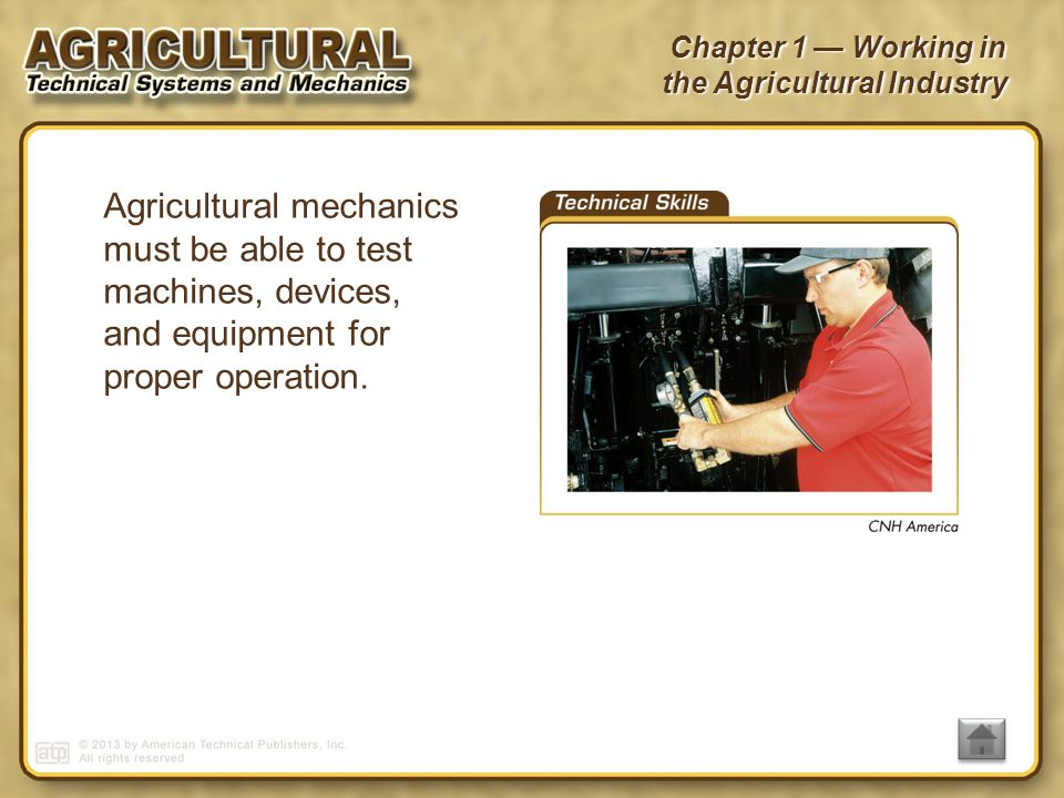 6 agricultural - Different Types Of Technical Skills