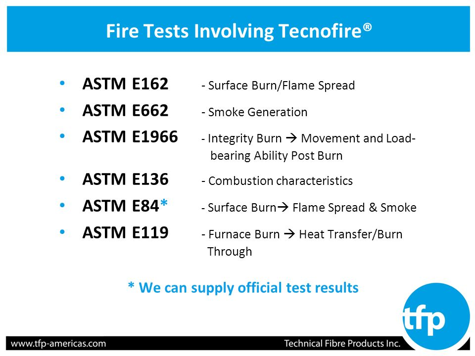 Tecnofire 174 Effective Fire Protection Solutions Ppt Video