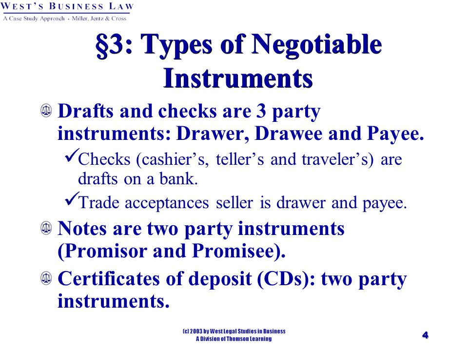role of negotiable instrument in the growth of commerce and trade A bill to amend the negotiable instruments act, 1881, to provide for interim compensation to the payee of a cheque, both at the trial stage and at the appellate stage, got the go-ahead from the.