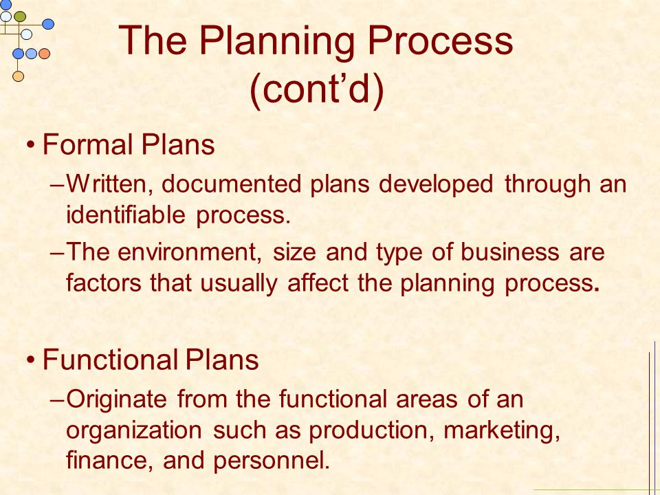 formal process Formal process change 1 the importance of understanding business process change as it relates to your future employment plans change is a very important aspect of .