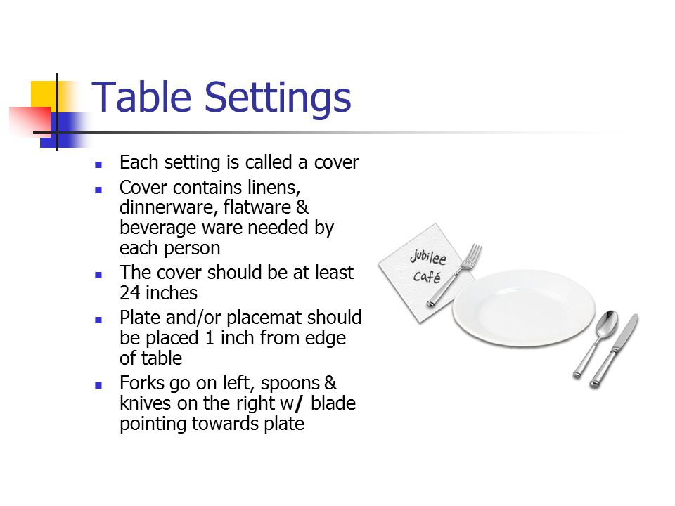 15 Table Settings ...  sc 1 st  SlidePlayer & Table Appointments. - ppt video online download